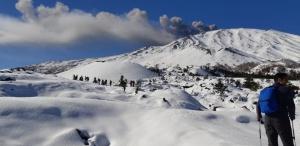 Ciaspolata sull'Etna - A Spasso sulla Neve
