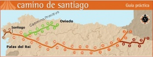 Cammino Primitivo - Da Oviedo a Santiago De Compostela - Spagna