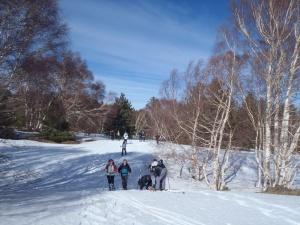Ciaspolata sull'Etna - Festa sulla neve